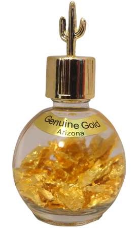 gold vial gifts from Salem Minerals at Goldvials.com