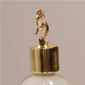 Kokopelli Gold Vial