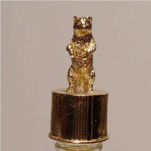 Bear Gold Vial