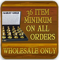 Wholesale providers of gold and silver vials