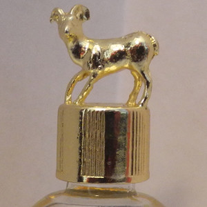 bighorn sheep gold vial