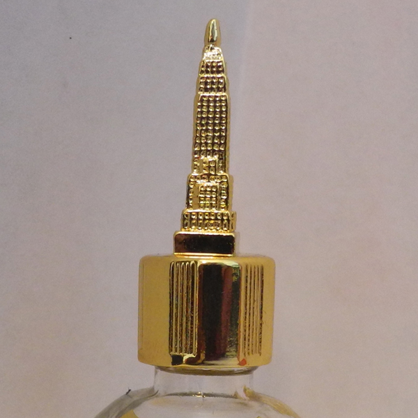 empire state building gold vial
