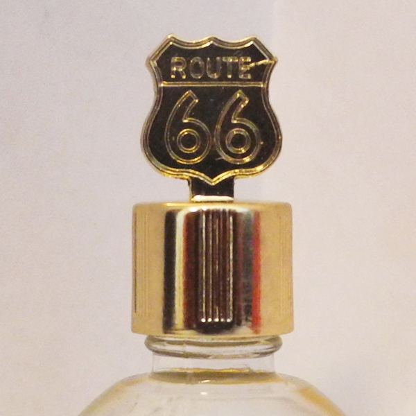 Route 66 gif gold vial